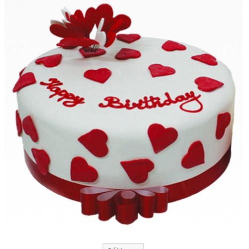 Send Valentines Day Cake Best Designed Cake Yummycake