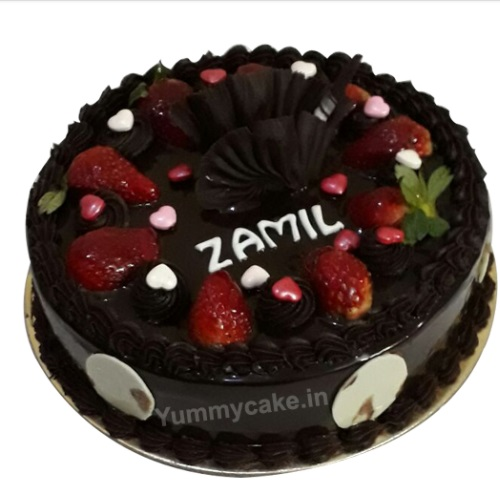 Birthday Cake Strawberry Chocolate
