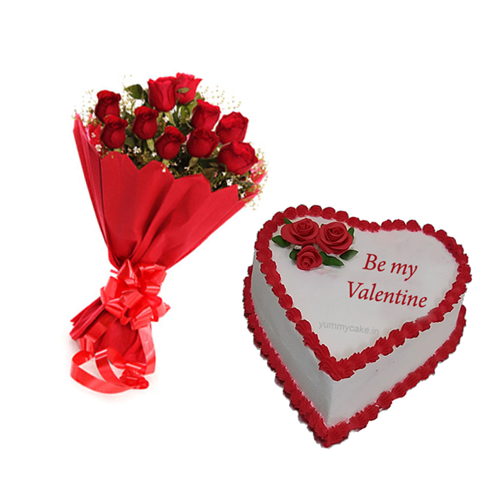 Order valentines day gifts from yummycake at best prices for Best online valentines gifts