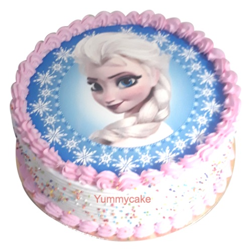 Number  Birthday Cake Frozen