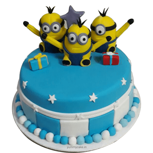 Buy Minion Birthday Cake Online