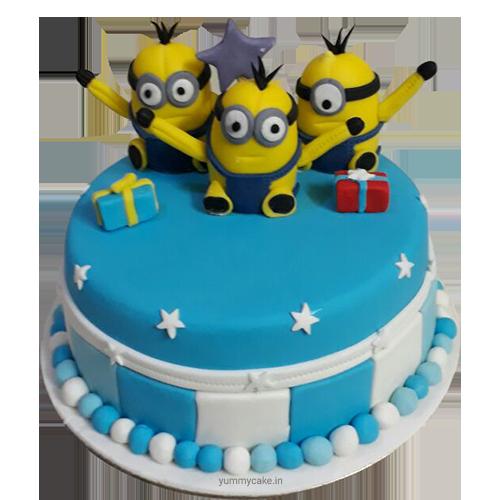 Birthday 2 Kg Cake Images : Buy Minion Birthday Cake, Send Minion Birthday Cake ...