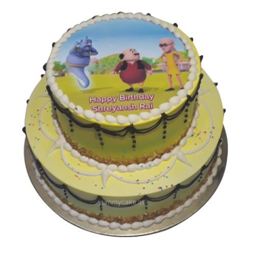 Motu Patlu Birthday Cake Online Best Design Yummycake