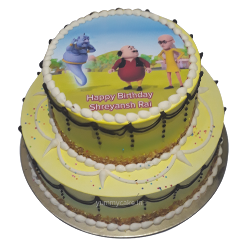 Motu Patlu Images For Birthday Cake : Top Cakes For Birthday Online Birthday Cakes Birthday ...