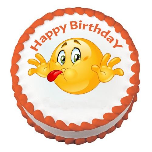 Emoji Birthday Cake Online