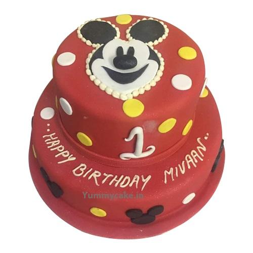 Birthday Cake Mickey Mouse