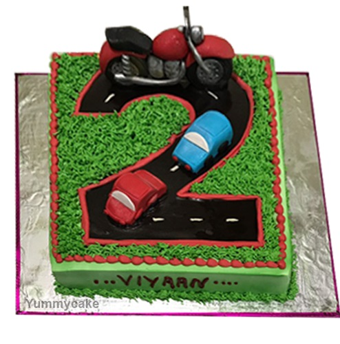 2nd Birthday Cake Online