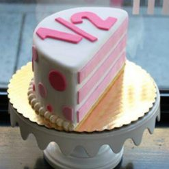6 Months Anniversary Cake