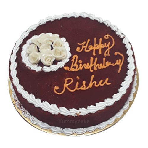 Red Velvet Birthday Cake 100 Eggless Free Delivery