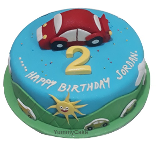 2nd Birthday Cake Online For Boys