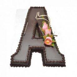 Alphabet A Cake
