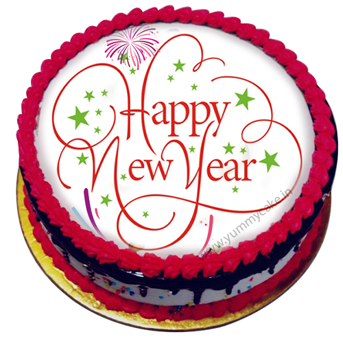 New Year Cake 2019 Online Free Home Delivery In Delhi Ncr