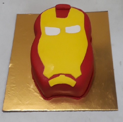 Birthday Cake Iron Man