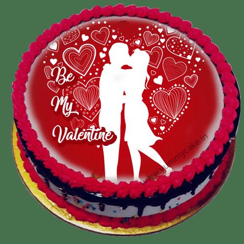 Valentine Day Special Cake Online Cheap Price Yummycake
