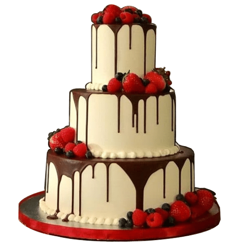 Chocolate Wedding Cake Online Cheap Price Yummycake