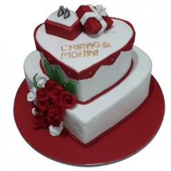 Engagement Cake Designs Price Online Free Delivery Delhi Ncr
