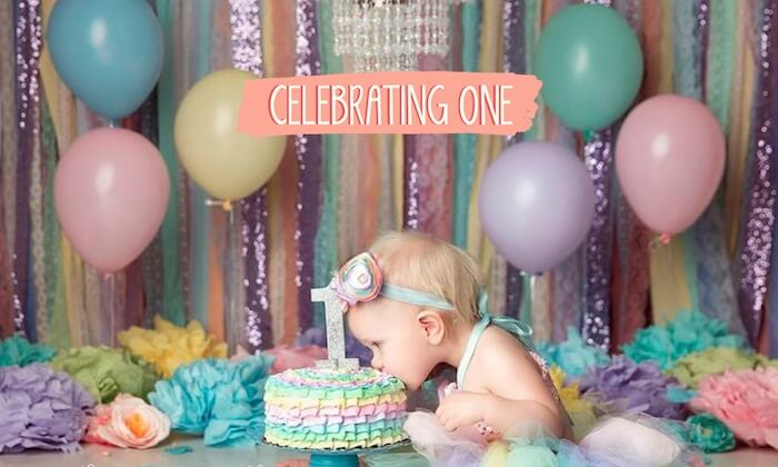 Perfect Way To Celebrate Your Child's 1st Birthday