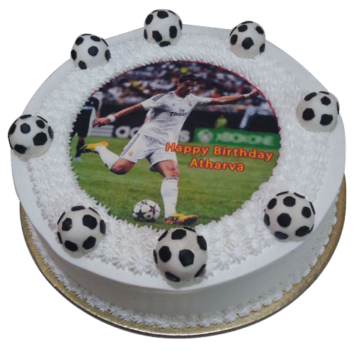 Football Themed Birthday Cakes