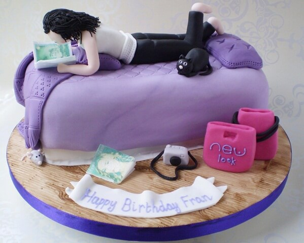 funny cake for girls