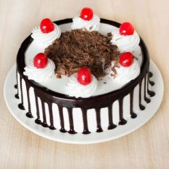 Black Forest Cake Eggless