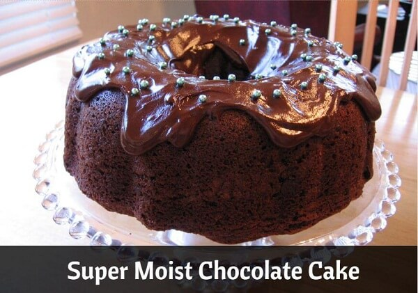 The Secret for Super Moist Chocolate Cake