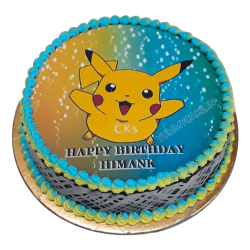 Pokemon Birthday Cake Online Best Cake Design Free