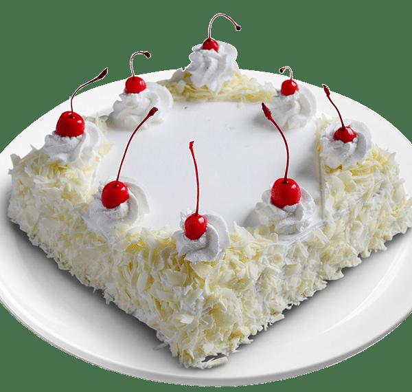 Pineapple Layer Cake: Order White Forest Cake Online