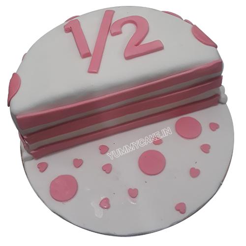 Half Year Anniversary Cake