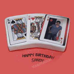 Playing Cards Cake