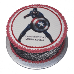 From 109900 Buy Now Captain America Birthday Cake