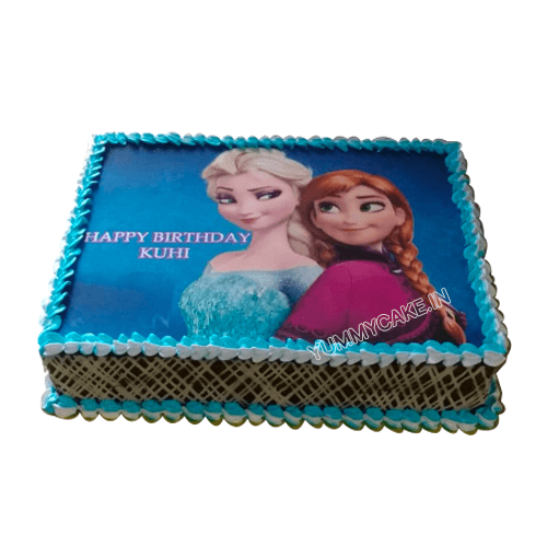 Birthday Cake Elsa Anna