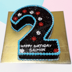 Special 2 Number Cake