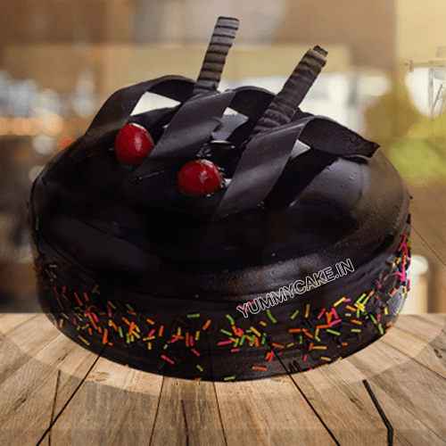 Rich Chocolate Truffle Cake Online Best Design Yummycake