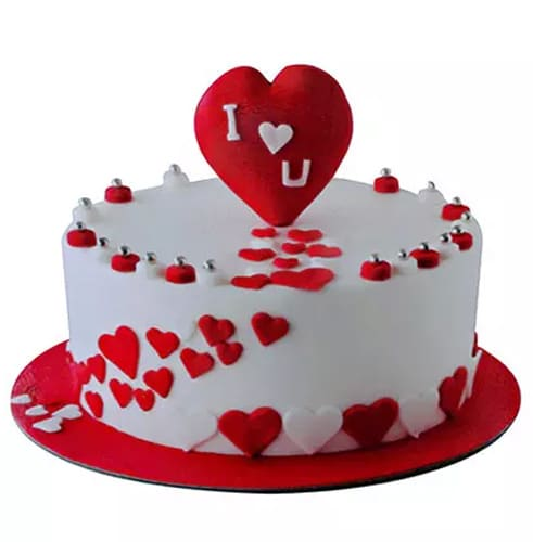 Your First Valentine Cake