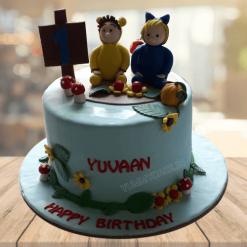 First Birthday Cake for Boy