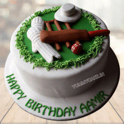 Cake For Cricket Lovers
