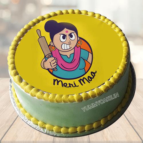 Maa Photo Cake