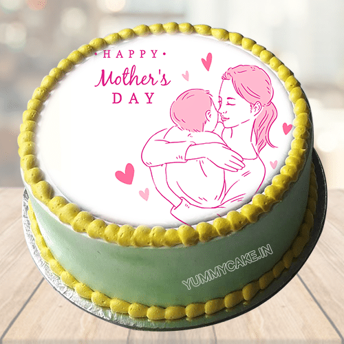 Mothers Day Cake with Photo