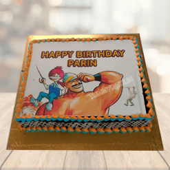 Chacha Chaudhary Theme Cake