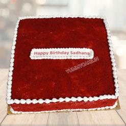 Red Velvet Squire cake