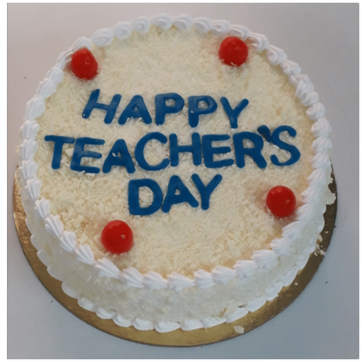 Cake for Teachers Day