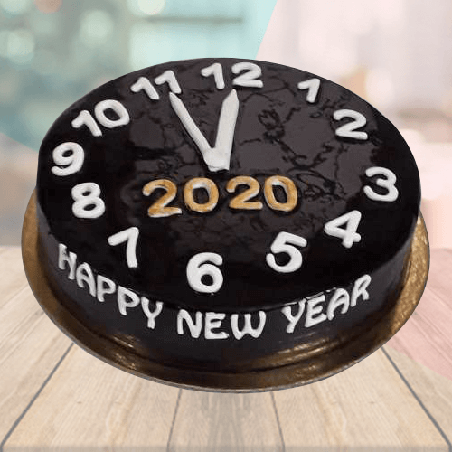 Happy New Year Cake 2020