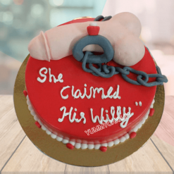 Spinster Party Cake
