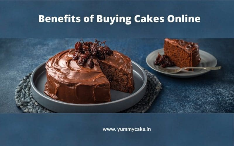 Benefits of Buying Cakes Online