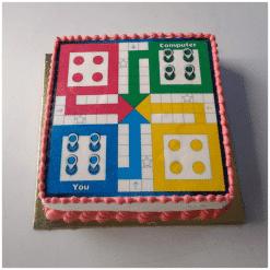 Ludo Cake