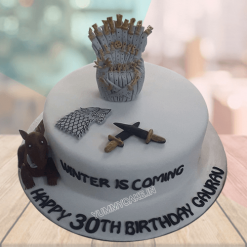 Game of Thrones Birthday Cake Online