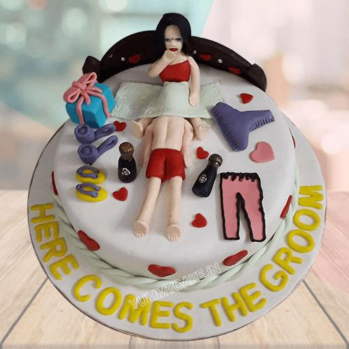 cake for groom
