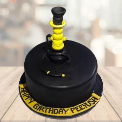 Hookah Birthday Cake