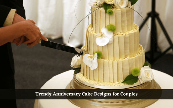 First Wedding Anniversary Cake Designs for Couples