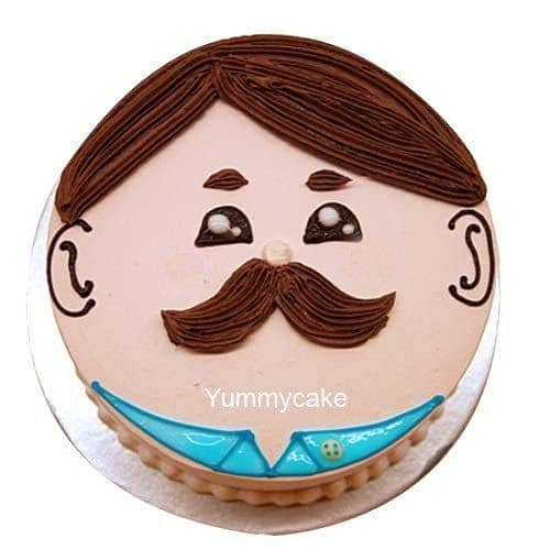 Funny fathers day cake